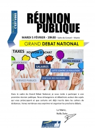 image flyer grand débat national